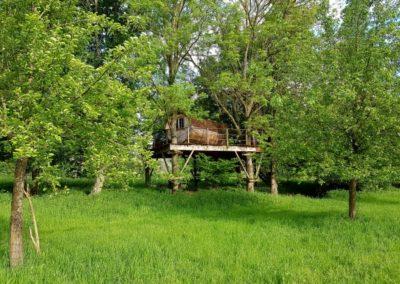 Cabane Tonneau -4m