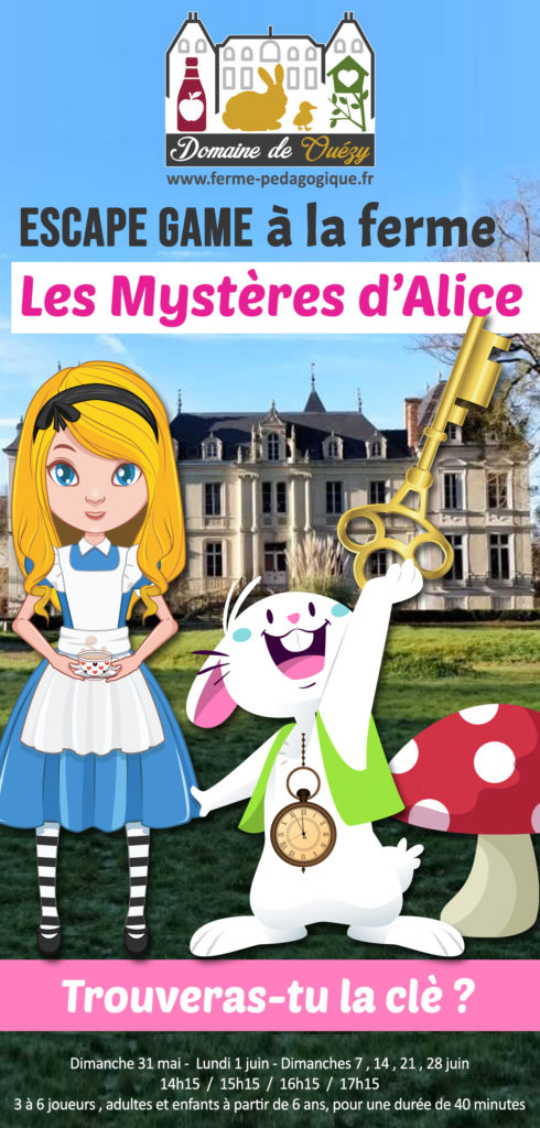 Escape Game Normandie Alice
